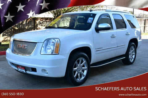 2009 GMC Yukon for sale at Schaefers Auto Sales in Victoria TX