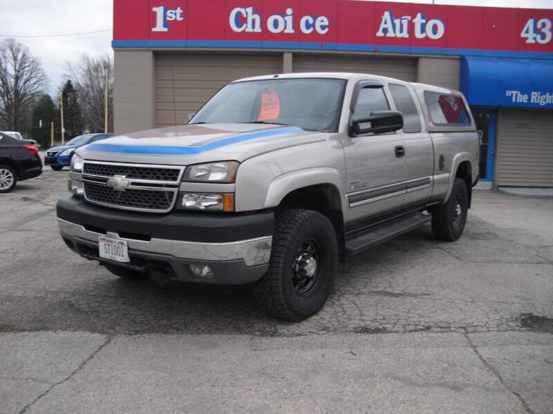 2005 Chevrolet Silverado 2500HD for sale at 1st Choice Auto Inc in Green Bay WI