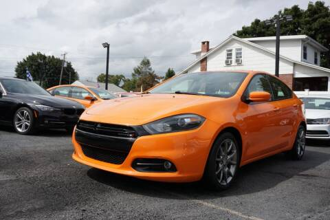 2014 Dodge Dart for sale at HD Auto Sales Corp. in Reading PA