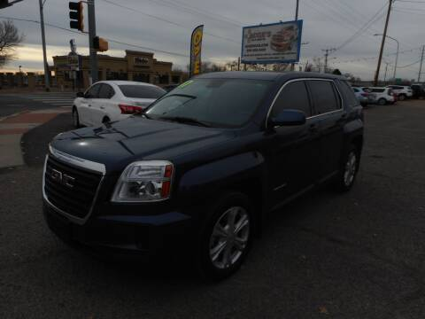 2017 GMC Terrain for sale at AUGE'S SALES AND SERVICE in Belen NM