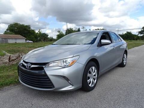 2015 Toyota Camry for sale at Automotive Credit Union Services in West Palm Beach FL