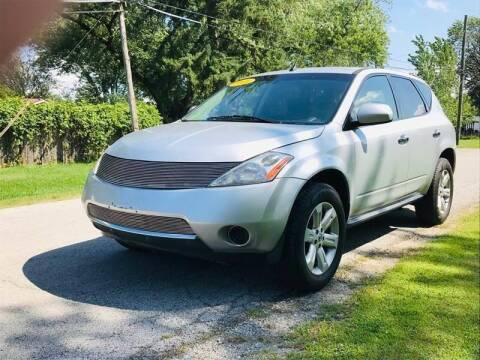 2006 Nissan Murano for sale at I57 Group Auto Sales in Country Club Hills IL