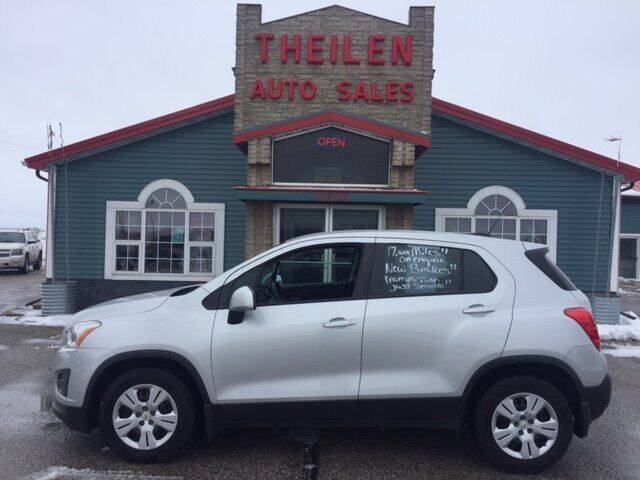 2016 Chevrolet Trax for sale at THEILEN AUTO SALES in Clear Lake IA