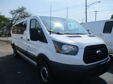 2017 Ford Transit Passenger for sale at AUTO FACTORY INC in East Providence RI