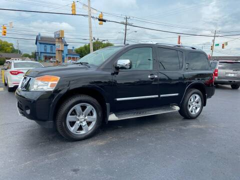 2012 Nissan Armada for sale at Rucker's Auto Sales Inc. in Nashville TN