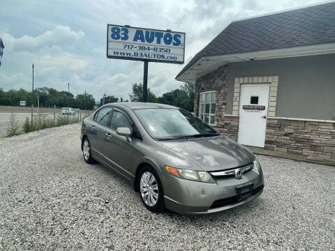 2006 Honda Civic for sale at 83 Autos in York PA