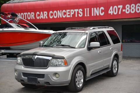 2003 Lincoln Navigator for sale at Motor Car Concepts II - Kirkman Location in Orlando FL