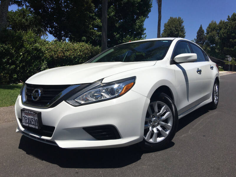 2016 Nissan Altima for sale at Valley Coach Co Sales & Lsng in Van Nuys CA