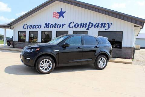 2016 Land Rover Discovery Sport for sale at Cresco Motor Company in Cresco IA