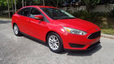 2015 Ford Focus for sale at DELRAY AUTO MALL in Delray Beach FL