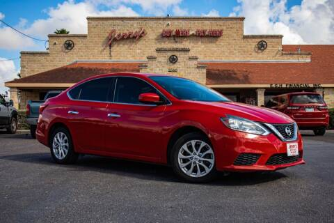 2017 Nissan Sentra for sale at Jerrys Auto Sales in San Benito TX