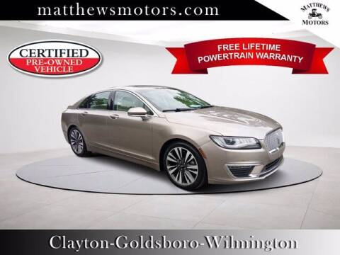 2019 Lincoln MKZ for sale at Auto Finance of Raleigh in Raleigh NC