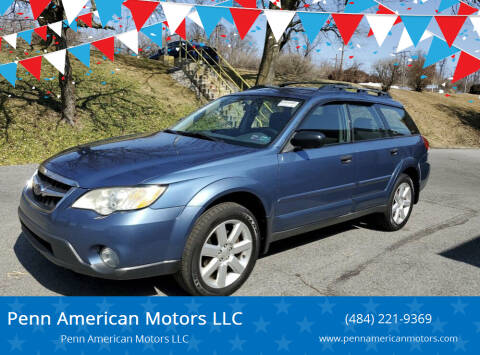 2008 Subaru Outback for sale at Penn American Motors LLC in Allentown PA