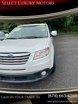 2008 Subaru Tribeca for sale at Select Luxury Motors in Cumming GA
