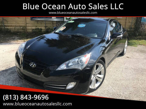 2010 Hyundai Genesis Coupe for sale at Blue Ocean Auto Sales LLC in Tampa FL