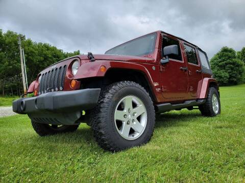 2007 Jeep Wrangler Unlimited for sale at Sinclair Auto Inc. in Pendleton IN
