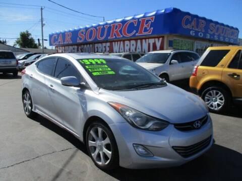 2011 Hyundai Elantra for sale at CAR SOURCE OKC in Oklahoma City OK