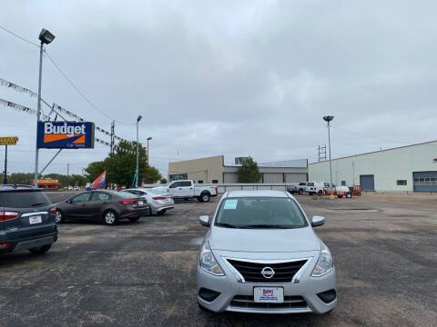 2018 Nissan Versa for sale at BUDGET CAR SALES in Amarillo TX