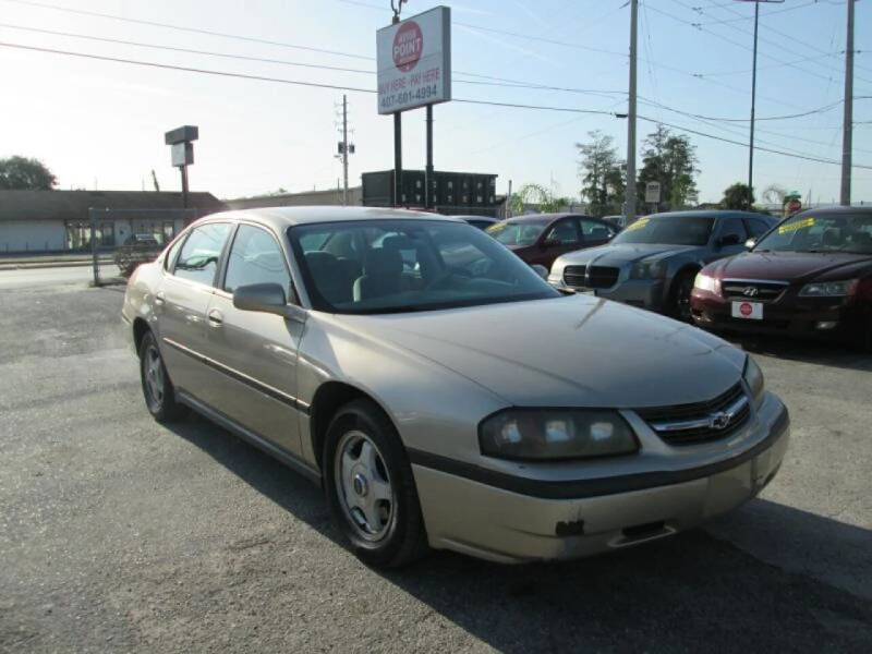 2005 Chevrolet Impala for sale at Motor Point Auto Sales in Orlando FL