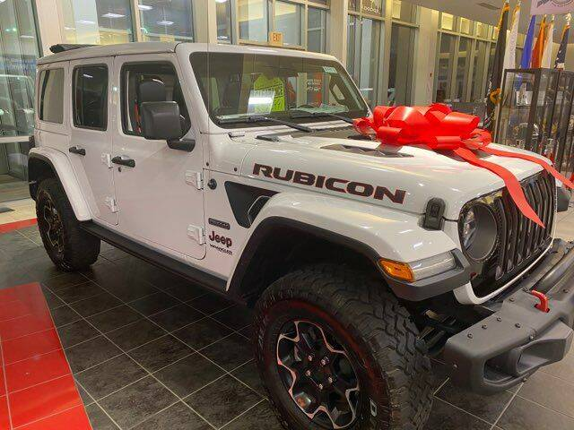 2020 Jeep Wrangler Unlimited for sale at Premium Motors in Rahway NJ