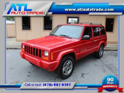 2000 Jeep Cherokee for sale at ATL Auto Trade, Inc. in Stone Mountain GA