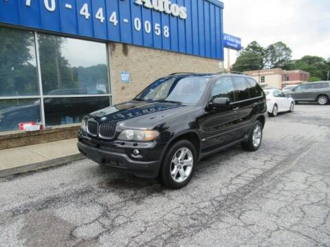 2006 BMW X5 for sale at Southern Auto Solutions - 1st Choice Autos in Marietta GA