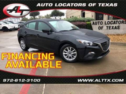 2016 Mazda MAZDA3 for sale at AUTO LOCATORS OF TEXAS in Plano TX