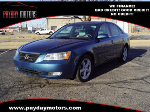 2006 Hyundai Sonata for sale at Payday Motors in Wichita And Topeka KS