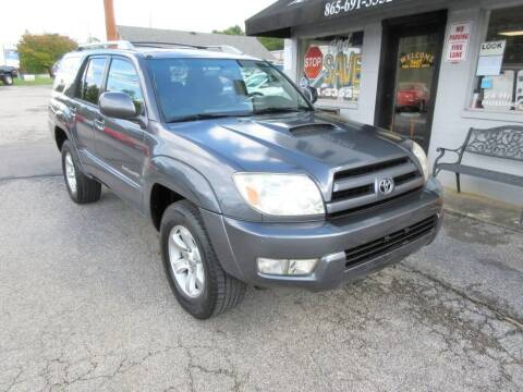 2005 Toyota 4Runner for sale at karns motor company in Knoxville TN