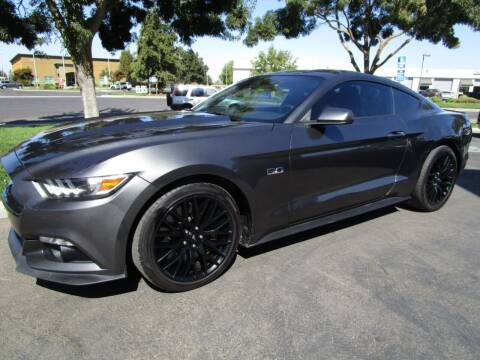 2017 Ford Mustang for sale at KM MOTOR CARS in Modesto CA