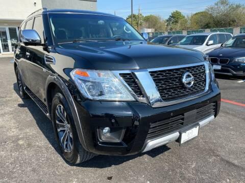 2017 Nissan Armada for sale at KAYALAR MOTORS in Houston TX