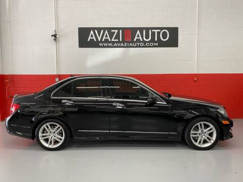 2014 Mercedes-Benz C-Class for sale at AVAZI AUTO GROUP LLC in Gaithersburg MD