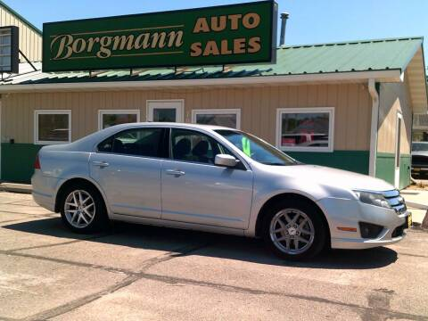 2010 Ford Fusion for sale at Borgmann Auto Sales in Norfolk NE