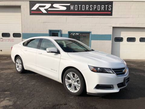 2015 Chevrolet Impala for sale at RS Motorsports, Inc. in Canandaigua NY
