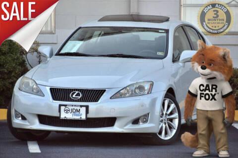 2009 Lexus IS 250 for sale at JDM Auto in Fredericksburg VA