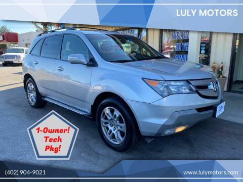 2008 Acura MDX for sale at Luly Motors in Lincoln NE