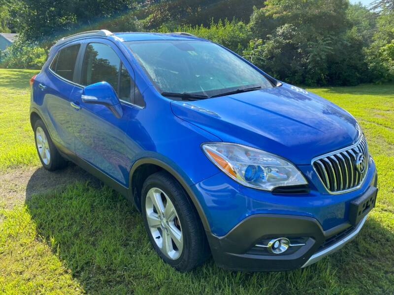 2015 Buick Encore for sale at Wright's Auto Sales LLC in Townshend VT