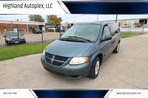 2006 Dodge Grand Caravan for sale at Highland Autoplex, LLC in Dallas TX