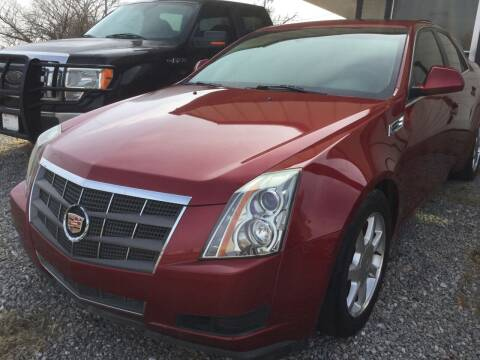 2009 Cadillac CTS for sale at LOWEST PRICE AUTO SALES, LLC in Oklahoma City OK