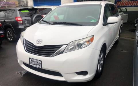 2012 Toyota Sienna for sale at DEALS ON WHEELS in Newark NJ