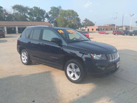 2014 Jeep Compass for sale at Victory Motors in Waterloo IA