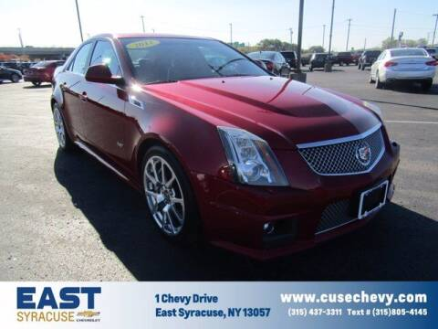 2011 Cadillac CTS-V for sale at East Syracuse Performance Sales & Service in Syracuse NY