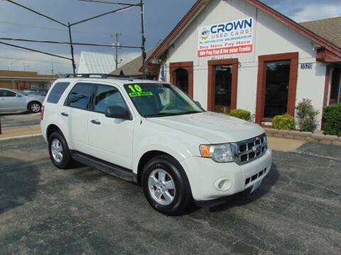 2010 Ford Escape for sale at Crown Used Cars in Oklahoma City OK