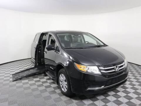2014 Honda Odyssey for sale at AMS Vans in Tucker GA