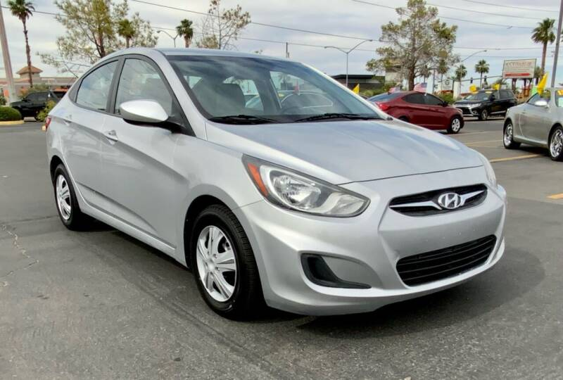 2013 Hyundai Accent for sale at Charlie Cheap Car in Las Vegas NV
