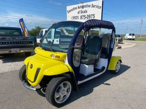2010 GLOBAL ELECTRIC MOTO E4 for sale at Executive Automotive Service of Ocala in Ocala FL