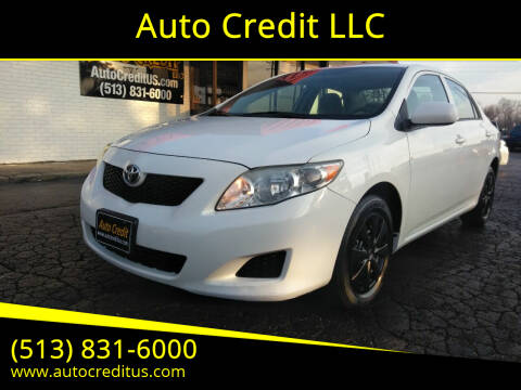 2009 Toyota Corolla for sale at Auto Credit LLC in Milford OH