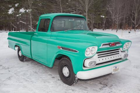 1959 Chevrolet Apache for sale at Essex Motorsport, LLC in Essex Junction VT