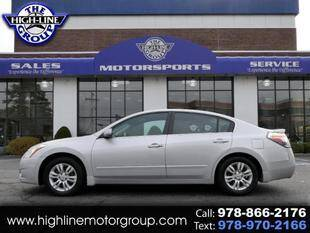 2012 Nissan Altima for sale at Highline Group Motorsports in Lowell MA