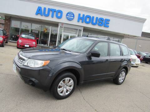 2011 Subaru Forester for sale at Auto House Motors in Downers Grove IL